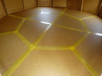 オクタゴンの床
